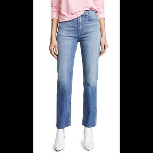 Rag & Bone The straight Leg Jeans In Rovers
